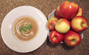 Roasted Ambrosia Apple Soup