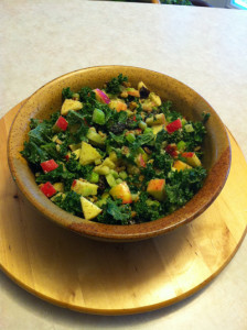 Ambrosia Apple Kale salad recipe
