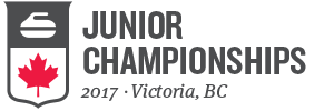 Junior championships curling - Victoria, BC, 2017