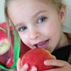 healthy Ambrosia apples