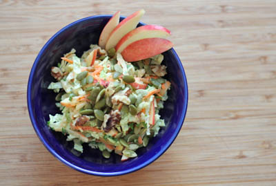 Ambrosia apple coleslaw