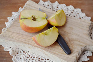 Ambrosia apples slices