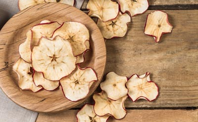 dehydrated Ambrosia apples