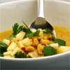 spicy Ambrosia apples soup