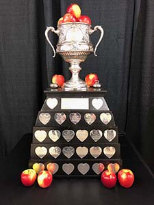 Ambrosia apples Brier Cup