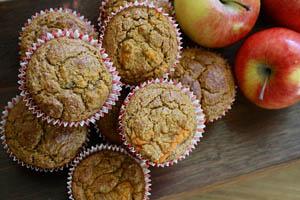 Ambrosia apple muffins