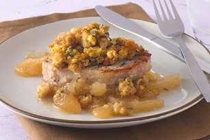 Pork and Ambrosia Apple Stuffing