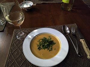 Ambrosia Apples soup