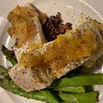 ambrosia apples and halibut recipe