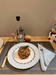 Ambrosia apples brunch recipies